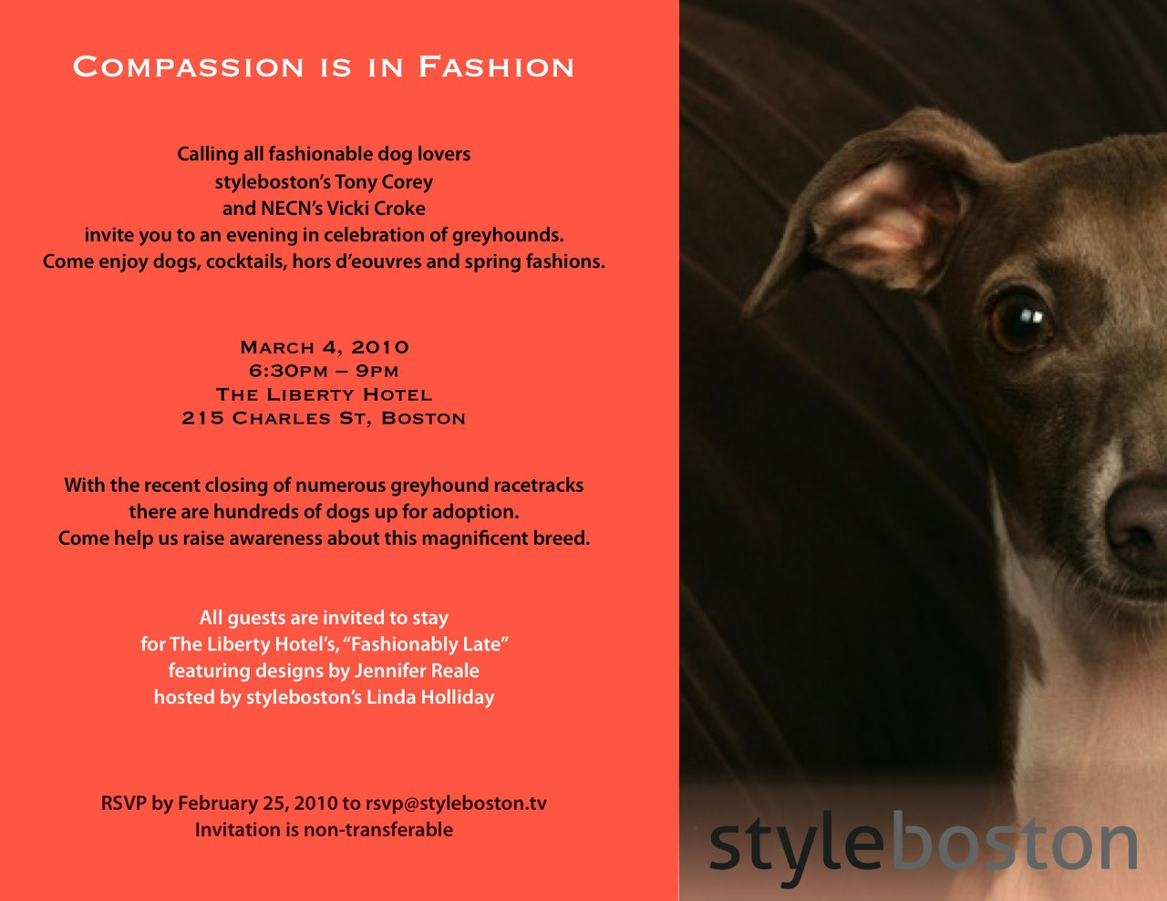 Compassion is in Fashion - March 2010