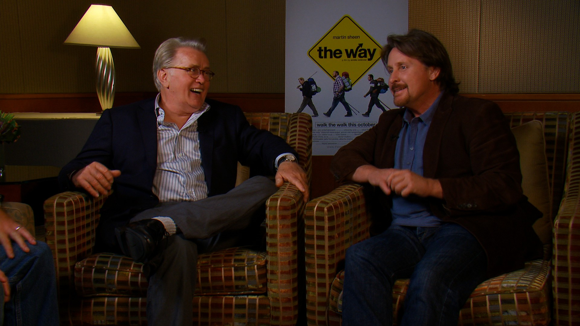 Martin Sheen & Emilio Estevez