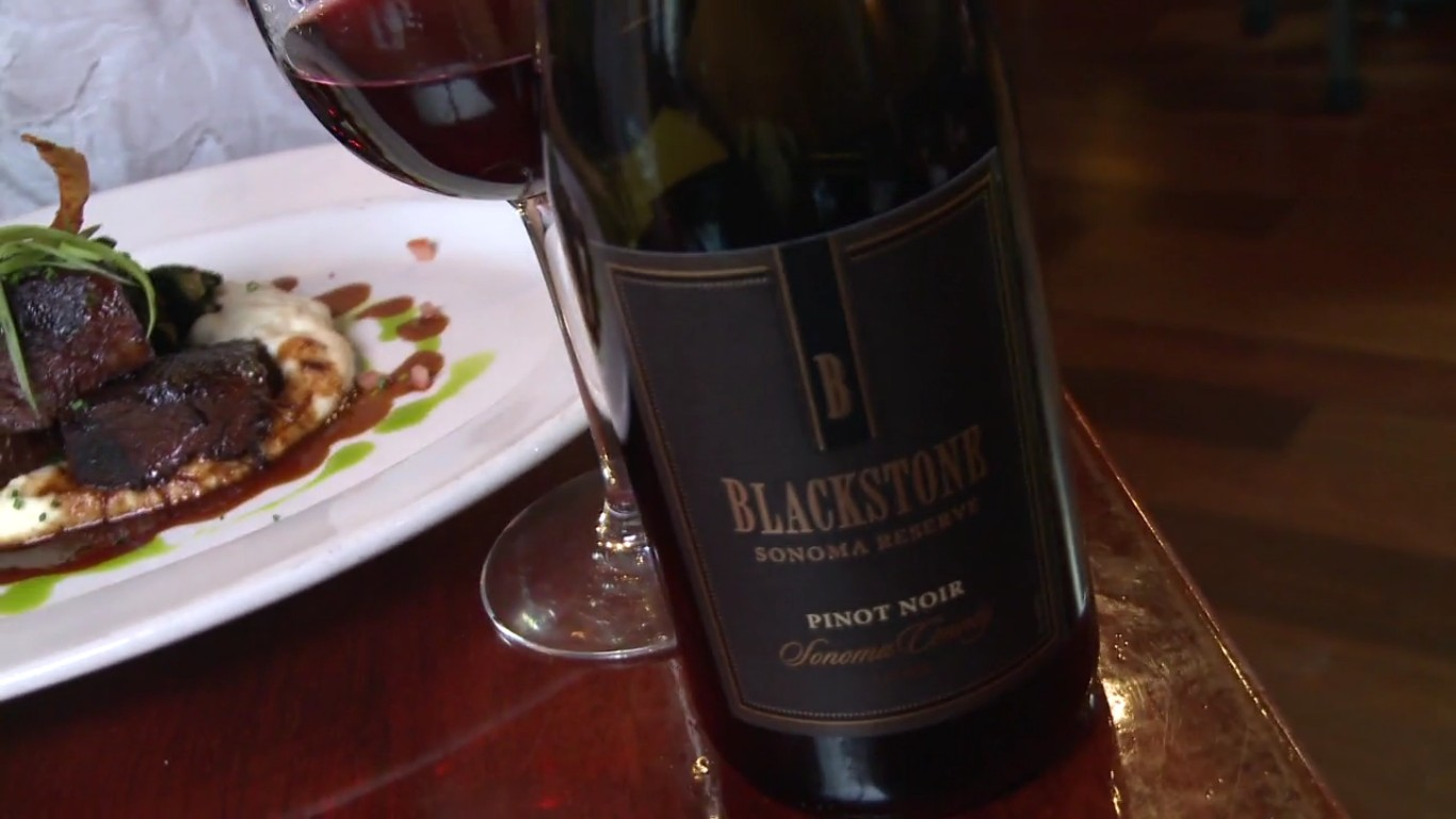 Perfect Pairings : Blackstone Pinot Noir